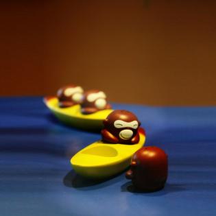 Набор шейкеров для соли и перца Banana Bros Alessi