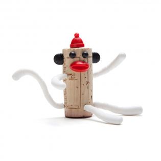 Набор украшений для пробки Chimp Nelson Corkers Classics Monkey Business