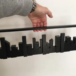 Настенная вешалка Skyline Umbra Черная