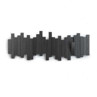 Настенная вешалка Sticks Umbra Черная