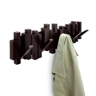 Настенная вешалка Sticks Umbra Эспрессо