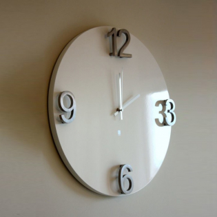 Настенные часы Elapse Umbra Белые