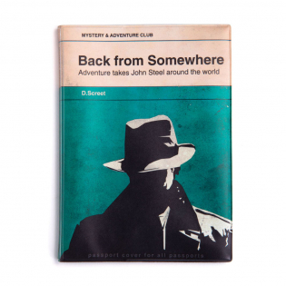 Обложка для паспорта A Novel Mystery Monkey Business