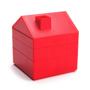 Органайзер для канцелярии In House Monkey Business Красный
