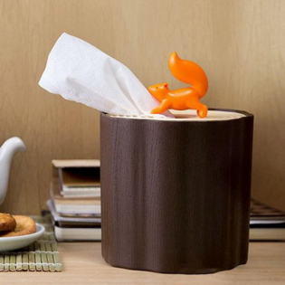 Подставка для салфеток Squirrel Tissue Log Qualy