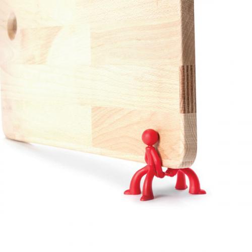 Подставка для сушки и хранения разделочных досок Board Brothers Peleg Design Красная