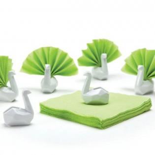 Подставки для салфеток Swans Peleg Design Белые