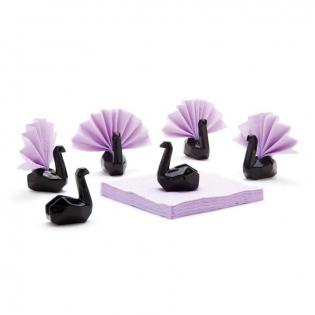 Подставки для салфеток Swans Peleg Design Черные
