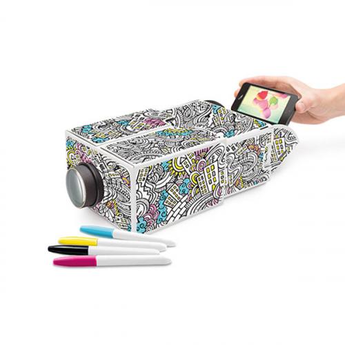 Проектор для смартфона Smartphone Projector 2.0 DIY Luckies