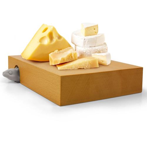 Разделочная доска и нож для сыра Nibbled Fred and Friends