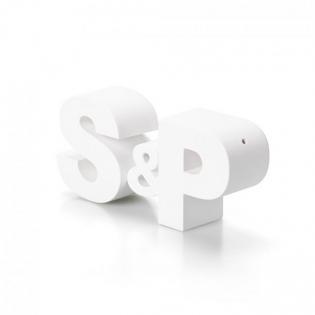 Шейкеры для соли и перца S&P Qualy Белые