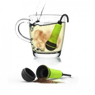 Силиконовый заварник для чая Spo-tea-fy Rocket Design Зеленый