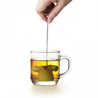 Силиконовый заварник для чая Tea Shirt Qualy Зеленый