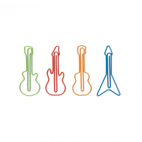 Скрепки для бумаг Audioclips Rocket Design