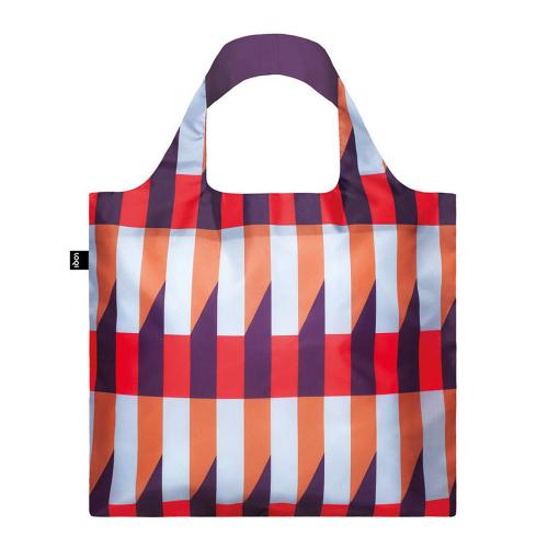Сумка для покупок складная GEOMETRIC Stripes LOQI