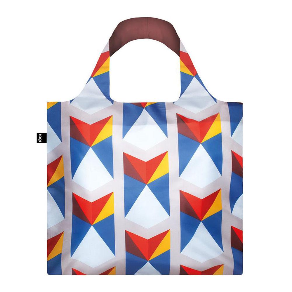 Сумка для покупок складная GEOMETRIC Triangles LOQI