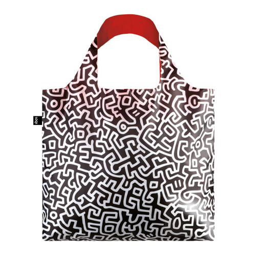 Сумка для покупок складная KEITH HARING Untitled LOQI