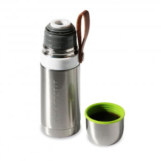 Термос стальной Thermo Flask Black+Blum Сталь / Зеленый