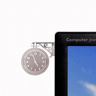 Украшение для монитора Часы Peleg Design