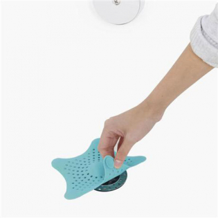 Улавливатель волос Starfish Umbra Голубой