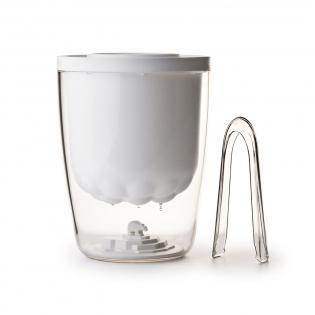 Ведерко для льда Polar Ice Bucket Qualy Белое