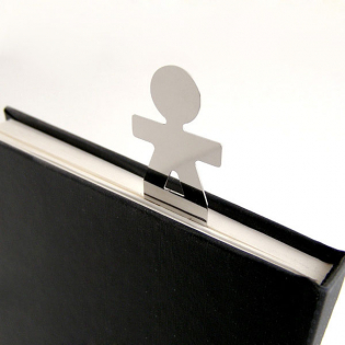 Закладка для книги Girotondo Alessi Полированная сталь