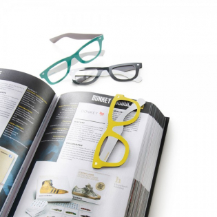 Закладка для книги Reading Glasses Donkey Желтая