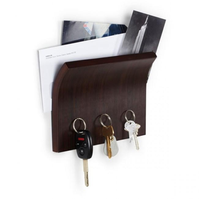 Настенные ключницы и брелки для ключей