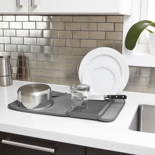 Сушка для посуды Udry Umbra Серая